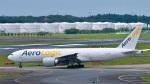 パンダさんが、成田国際空港で撮影したエアロ・ロジック 777-FZNの航空フォト(写真)