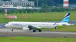 パンダさんが、成田国際空港で撮影したエアプサン A321-231の航空フォト(飛行機 写真・画像)