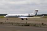 北の熊さんが、新千歳空港で撮影したORFRO LLC  G-V Gulfstream Vの航空フォト(写真)