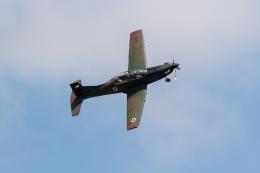 チャッピー・シミズさんが、フェアフォード空軍基地で撮影したヨルダン空軍 PC-9Mの航空フォト(飛行機 写真・画像)