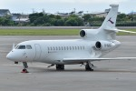 Dojalanaさんが、函館空港で撮影した金鹿航空 Falcon 7Xの航空フォト(飛行機 写真・画像)
