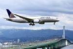 くれないさんが、関西国際空港で撮影したユナイテッド航空 787-8 Dreamlinerの航空フォト(写真)