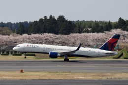 飛行機ゆうちゃんさんが、成田国際空港で撮影したデルタ航空 757-26Dの航空フォト(飛行機 写真・画像)