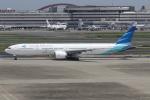 ショウさんが、羽田空港で撮影したガルーダ・インドネシア航空 777-3U3/ERの航空フォト(飛行機 写真・画像)