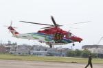 ショウさんが、宇都宮飛行場で撮影した栃木県消防防災航空隊 AW139の航空フォト(写真)
