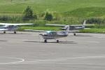 Cスマイルさんが、札幌飛行場で撮影したスカイフォト 172P Skyhawk IIの航空フォト(写真)