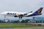 Chofu Spotter Ariaさんが、横田基地で撮影したアトラス航空 747-45E(BDSF)の航空フォト(飛行機 写真・画像)