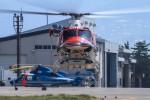 アミーゴさんが、松本空港で撮影した長野県消防防災航空隊 412EPの航空フォト(写真)