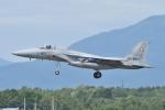 B747‐400さんが、千歳基地で撮影した航空自衛隊 F-15J Eagleの航空フォト(写真)