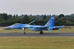 nobu2000さんが、フェアフォード空軍基地で撮影したウクライナ空軍 Su-27の航空フォト(写真)