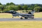 nobu2000さんが、フェアフォード空軍基地で撮影したベルギー空軍 F-16 Fighting Falconの航空フォト(写真)