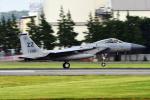 Flankerさんが、横田基地で撮影したアメリカ空軍 F-15C-40-MC Eagleの航空フォト(写真)