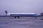 kumagorouさんが、仙台空港で撮影した中国北方航空 MD-82 (DC-9-82)の航空フォト(写真)