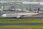 tkosadaさんが、羽田空港で撮影したシンガポール航空 777-312/ERの航空フォト(写真)