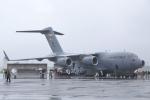ちゃぽんさんが、横田基地で撮影したアメリカ空軍 C-17A Globemaster IIIの航空フォト(写真)