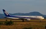 鉄バスさんが、広島空港で撮影した全日空 767-381の航空フォト(飛行機 写真・画像)