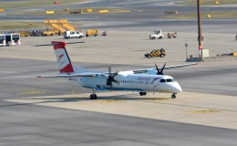 k-spotterさんが、ウィーン国際空港で撮影したオーストリア航空 DHC-8-402Q Dash 8の航空フォト(飛行機 写真・画像)