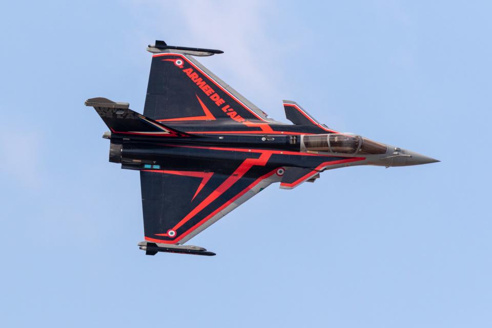 チャッピー・シミズさんのフランス空軍 Dassault Rafale (4-GI) 航空フォト