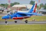 ちゃぽんさんが、フェアフォード空軍基地で撮影したフランス空軍 Alpha Jet Eの航空フォト(写真)