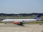 kayさんが、成田国際空港で撮影したスカンジナビア航空 A340-313Xの航空フォト(写真)