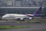 飛行機ゆうちゃんさんが、羽田空港で撮影したタイ国際航空 747-4D7の航空フォト(写真)