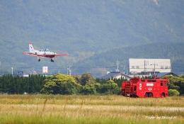 碇シンジさんが、防府北基地で撮影した航空自衛隊 T-7の航空フォト(飛行機 写真・画像)