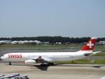 kayさんが、成田国際空港で撮影したスイスインターナショナルエアラインズ A340-313Xの航空フォト(写真)