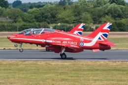 Tomo-Papaさんが、フェアフォード空軍基地で撮影したイギリス空軍 BAe Hawk T1Wの航空フォト(飛行機 写真・画像)