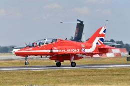 nobu2000さんが、フェアフォード空軍基地で撮影したイギリス空軍 BAe Hawk T1Wの航空フォト(飛行機 写真・画像)