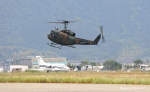 ぷぅちゃんさんが、防府北基地で撮影した陸上自衛隊 UH-1Jの航空フォト(写真)