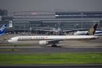 飛行機ゆうちゃんさんが、羽田空港で撮影したシンガポール航空 777-312/ERの航空フォト(写真)