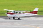 なごやんさんが、鹿児島空港で撮影した新日本航空 172P Skyhawkの航空フォト(写真)