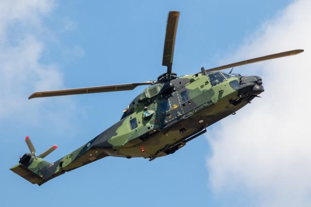 チャッピー・シミズさんが、フェアフォード空軍基地で撮影したフィンランド陸軍 NH90の航空フォト(飛行機 写真・画像)