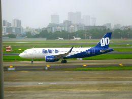 まいけるさんが、チャトラパティー・シヴァージー国際空港で撮影したゴーエア A320-271Nの航空フォト(飛行機 写真・画像)