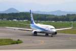 Kuuさんが、米子空港で撮影した全日空 737-881の航空フォト(飛行機 写真・画像)