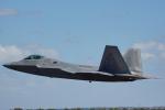 ちゃぽんさんが、アバロン空港で撮影したアメリカ空軍 F-22A-35-LM Raptorの航空フォト(飛行機 写真・画像)