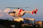 SAMBAR-2463さんが、高崎ヘリポートで撮影した朝日航洋 BK117C-2の航空フォト(写真)