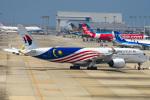 we love kixさんが、関西国際空港で撮影したマレーシア航空 A350-941XWBの航空フォト(写真)