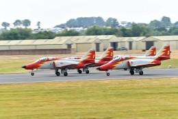 nobu2000さんが、フェアフォード空軍基地で撮影したスペイン空軍 C-101EB Aviojetの航空フォト(飛行機 写真・画像)