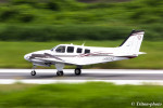 triton@blueさんが、岡南飛行場で撮影した岡山航空 G58 Baronの航空フォト(写真)
