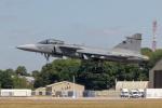 チャッピー・シミズさんが、フェアフォード空軍基地で撮影したチェコ空軍 JAS39 GRIPENの航空フォト(写真)