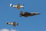 チャッピー・シミズさんが、フェアフォード空軍基地で撮影したアメリカ空軍 F-35A Lightning IIの航空フォト(写真)