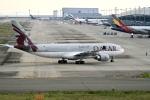 くれないさんが、関西国際空港で撮影したカタール航空 A330-202の航空フォト(写真)