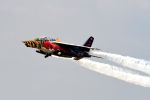まいけるさんが、ファンボロー空港で撮影したザ・フライングブルズ Alpha Jet Aの航空フォト(写真)