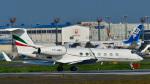 パンダさんが、成田国際空港で撮影したサンマリノ企業所有 G-V-SP Gulfstream G550の航空フォト(飛行機 写真・画像)