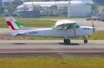 Tomo_mcz_lgmさんが、熊本空港で撮影した新日本航空 172P Skyhawkの航空フォト(写真)