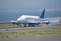 kumagorouさんが、中部国際空港で撮影したボーイング 747-4J6(LCF) Dreamlifterの航空フォト(写真)