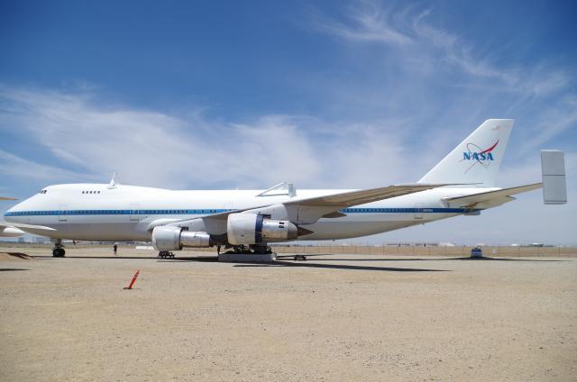 アメリカ航空宇宙局 Boeing 747SR N911NA パームデール・リージョナル空港  航空フォト | by tasho0525さん