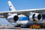 LAX Spotterさんが、ロサンゼルス国際空港で撮影したヴォルガ・ドニエプル航空 An-124-100 Ruslanの航空フォト(写真)