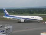くまのんさんが、新千歳空港で撮影した全日空 777-281の航空フォト(飛行機 写真・画像)